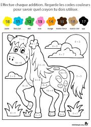 coloriage magique pour enfants de maternelle