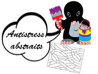 Coloriages antistress, coloriages abstraits à imprimer