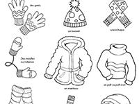 Imagier lié à l hiver, les vêtements - Lulu la taupe, jeux gratuits pour  enfants 0c400a90c99b