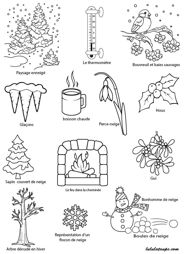 imagier sur le th me de l 39 hiver la nature et le froid lulu la taupe jeux gratuits pour enfants. Black Bedroom Furniture Sets. Home Design Ideas