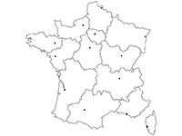 Carte Vierge Des 13 Nouvelles Régions De France à Imprimer