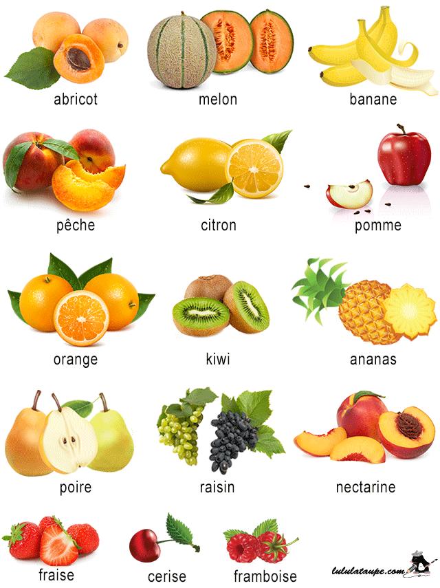 Les fruits 1 lulu la taupe jeux gratuits pour enfants - Liste fruits exotiques avec photos ...
