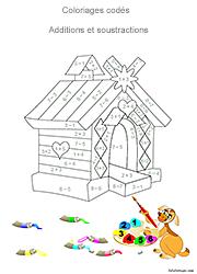 Coloriage Intelligent Cp.Coloriages Codes Lulu La Taupe Jeux Gratuits Pour Enfants