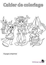 Cahier De Coloriage A Imprimer Lulu La Taupe Jeux Gratuits Pour Enfants