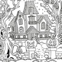 Accueil lulu la taupe jeux gratuits pour enfants - Dessin de maison hantee ...