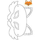 D coupage lulu la taupe jeux gratuits pour enfants - Masque de renard a imprimer ...
