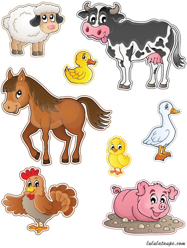 animaux de la ferme d couper lulu la taupe jeux gratuits pour enfants. Black Bedroom Furniture Sets. Home Design Ideas