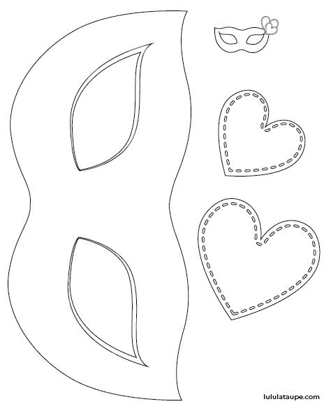 Masque colorier et d couper lulu la taupe jeux gratuits pour enfants - Masque loup a imprimer ...