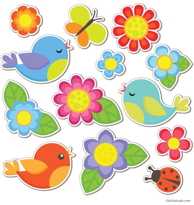 Mobile d couper le printemps lulu la taupe jeux - Fleur a colorier et a decouper ...