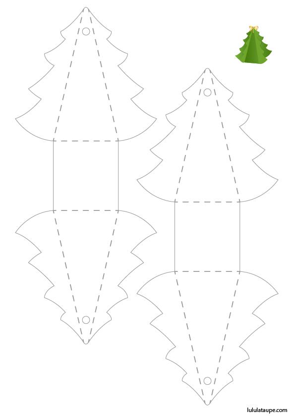 Sapin De Noël à Découper Lulu La Taupe Jeux Gratuits Pour