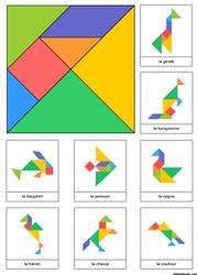 Tangrams imprimer lulu la taupe jeux gratuits pour for Puzzle a colorier gratuit