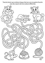 Labyrinthes lulu la taupe jeux gratuits pour enfants - Jeu labyrinthe a imprimer ...