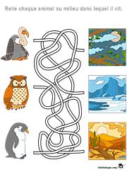 Labyrinthes - Lulu la taupe, jeux gratuits pour enfants