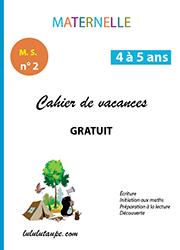 Cahiers De Vacances Gratuits A Imprimer Lulu La Taupe Jeux Gratuits Pour Enfants