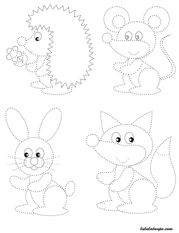 Dessins en pointill s lulu la taupe jeux gratuits pour enfants - Dessin pour bebe 2 ans ...