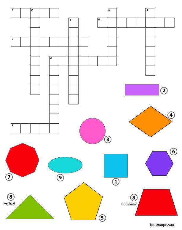 mots fl ch s les formes g om triques planes lulu la taupe jeux gratuits pour enfants. Black Bedroom Furniture Sets. Home Design Ideas