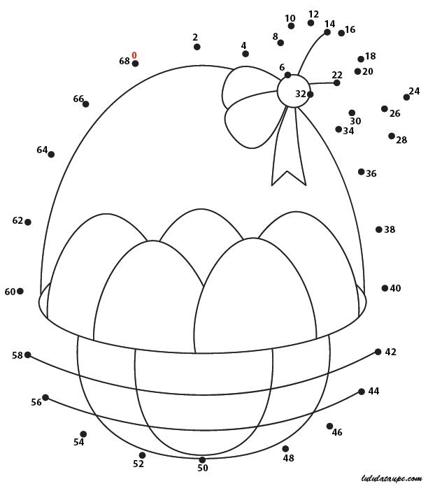 Relier les points nombres impairs un uf de p ques - Jeux a relier les points gratuit ...