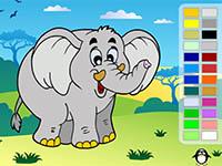 Coloriage En Ligne 6 Ans.Coloriages En Ligne Lulu La Taupe Jeux Gratuits Pour Enfants