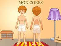 Imagier en ligne pour Enfants de Maternelle, le Corps humain